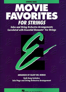 HAL LEONARD Del Borgo: Movie Favorites for Strings (bass)