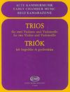 HAL LEONARD Pejtsik: Trios (2 violins & cello) score & parts, Edito Musica Budapest