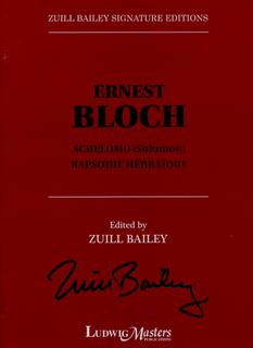 LudwigMasters Bloch: Schelomo (Solomon) & Rapsodie Hébrayque (cello & piano) LudwigMasters