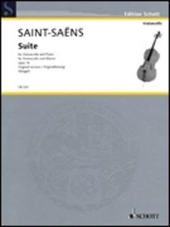 HAL LEONARD Saint-Saens: Suite Op. 16 (cello & piano)