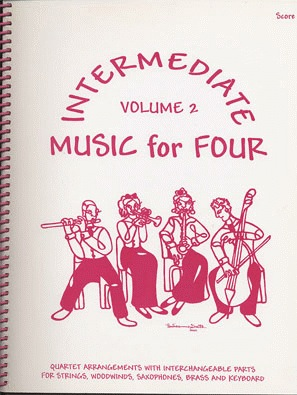 Last Resort Music Publishing Kelley, Daniel: Music for Four Intermediate Vol.2 (score)