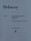 HAL LEONARD Debussy, Claude: Sonate (cello & piano)