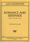 International Music Company Goltermann, Georg: Romance & Serenade Op.119 #1&2 (4 cellos)
