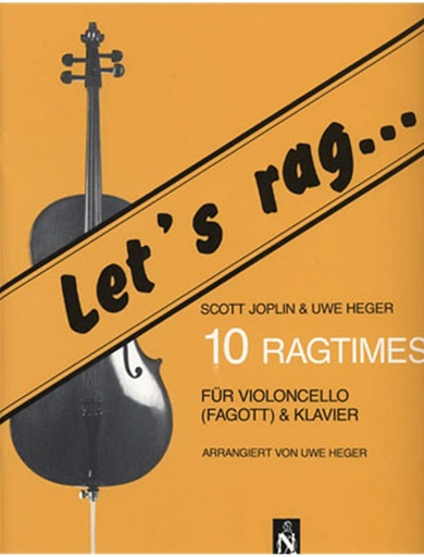 Joplin, S. (Heger): 10 Ragtimes (cello & piano)