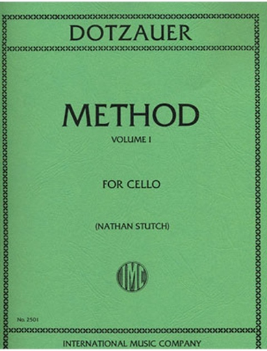 International Music Company Dotzauer (Stutch): Cello Method, Vol.1 (cello)