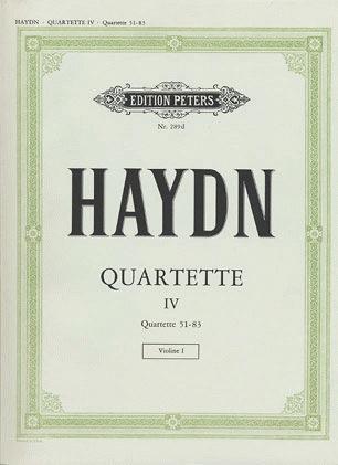 Haydn (Moser): 30 Famous String Quartets, Vol.4 (string quartet)  PETERS