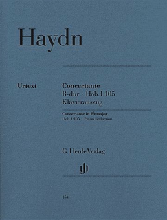 HAL LEONARD Haydn, F.J. (Gerlach, ed.): Concertante in Bb Major, Hob.I: 105, urtext (Oboe, Bassoon, Violin, Cello & Piano)