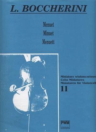 Carl Fischer Boccherini, Luigi: Minuet (cello & piano)