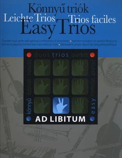 HAL LEONARD Soos, Andras: Easy Trios (violin, viola, cello or two violins & cello)