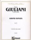 Alfred Music Giuliani, Mauro: Grand Sonata Op.25 (violin & Guitar)