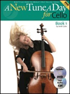 HAL LEONARD Coles, Janet: A New Tune A Day for Cello Bk.1 (cello, DVD, CD)