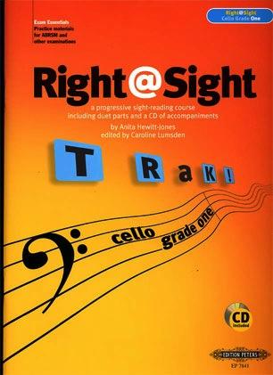 Hewitt-Jones, Anita: Right @ Sight-Cello Grade One (cello & CD)