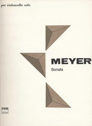 PWM Edition Meyer, Krzystof: Solo Sonata Op.1 (cello)
