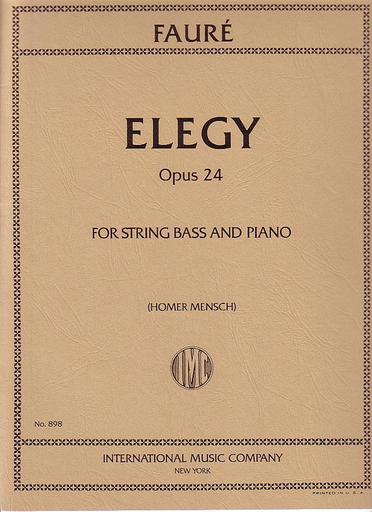 International Music Company Faure, Gabriel (Mensch): Elegy Op.24 (bass & piano)