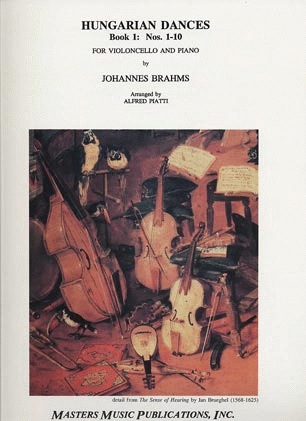 LudwigMasters Brahms, Johannes (Piatti): Hungarian Dances No.1-10 (cello & piano)