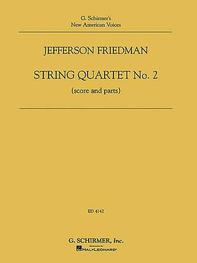 HAL LEONARD Friedman, Jefferson: String Quartet No. 2 (score and parts)
