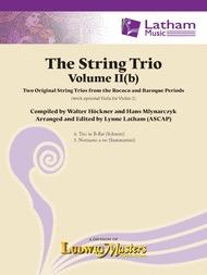 LudwigMasters Hockner, W: The String Trio Vol.2b (string trio) Ludwig Masters