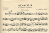 Edition Delrieu Bach (Silvy): Adagio in A minor - TRANSCRIBED (cello & piano/organ)