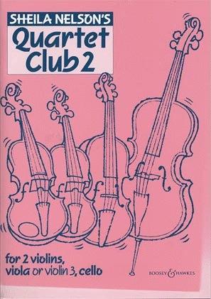 HAL LEONARD Nelson, S.: Quartet Club Vol.2 (string quartet, set of parts)