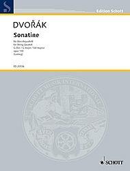 HAL LEONARD Dvorak, Antonin : Sonatine for String Quartet, Op. 100 score and parts
