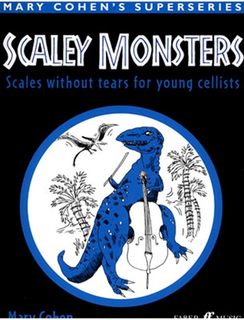 Faber Music Cohen, Mary: Scaley Monsters (cello)
