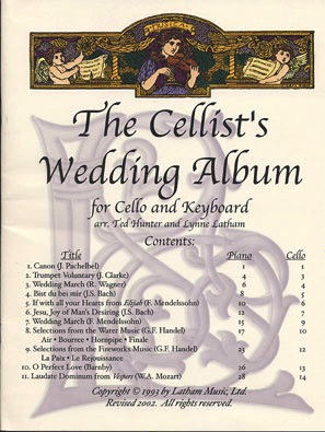 Latham, Lynn: The Cellists's Wedding Album (cello & piano)