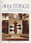 Anderson & Frost: All for Strings Theory Workbook, Bk.2 (cello)