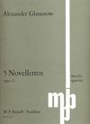 Glazunov, Alexander: Five Novelettes Op.15 (string quartet parts)
