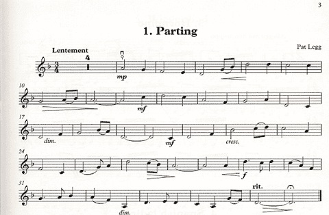 Alfred Music Legg, Pat: Thumb Position Repertoire