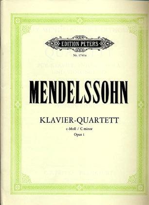 Mendelssohn, F.: Piano Quartet in C minor, Op.1 (violin, viola, cello, piano)
