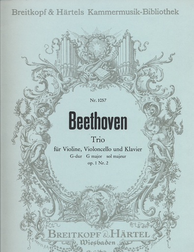Beethoven, L. van: Piano Trio Op. 1 No. 2 (piano, violin, cello)