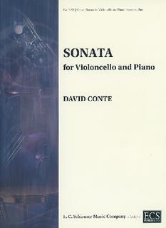 ECS Publishing Conte, David: Sonata (cello & piano) ECS Publishing