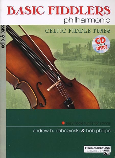 Alfred Music Dabczynski, A.: Basic Fiddlers Philharmonic-Celtic Fiddle Tunes (cello/bass & CD)
