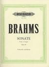 Brahms, Johanes (Klengel): Sonata No.2 op.99 in F major (cello & piano)