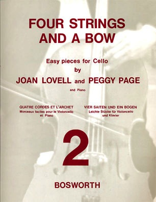 Bosworth Lovell, Joan & Peggy Page: Four Strings and a Bow Bk.2 (cello & piano)