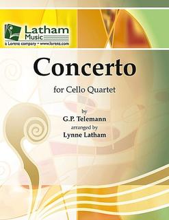 Telemann, G.P. (Latham): Concerto (4 cellos)