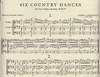 International Music Company Beethoven, L.van: Six Country Dances WoO15 (2 Violins & Cello) score & parts IMC