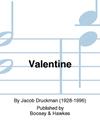 HAL LEONARD Druckman, J.: Valentine (Contrabass)