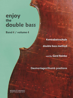 Reinke, Gerd: Enjoy the Double Bass, thumb position Vol. 4 (bass)