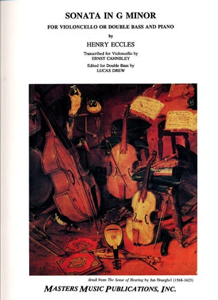 LudwigMasters Eccles, Henry (Cahnbley): Sonata in g minor (cello & piano)