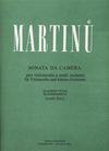 Barenreiter Martinu, Bohuslav: Sonata da Camera 1940 (cello & piano) Barenreiter