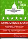 Heffler, Rich: Great Hymn Favorites Medley (2 violins & cello)