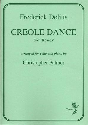 Delius, Frederick: Creole Dance (cello & piano)