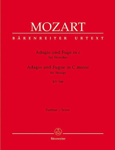 Barenreiter Mozart, W.A.: Adagio and Fugue in C minor KV 546 score and parts (String Quartet)