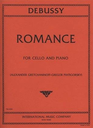 International Music Company Debussy, Claude (Piatigorsky): Romance (cello & piano) IMC