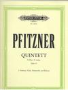 Pfitzner, Hans: Quintett in C major, Op.23 (2 violins, viola, cello, piano)