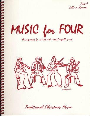 Last Resort Music Publishing Kelley, Daniel: Music for Four - Traditional Christmas Music (cello)