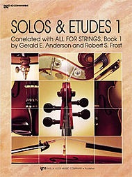 Anderson, G. & Frost: Solos & Etudes Bk.1 (piano accompaniment)