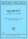 International Music Company Mozart, W.A.: Quartet in D major, K.311 (flute or violin, viola, cello)