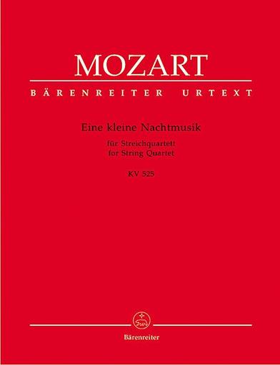 Barenreiter Mozart, W.A.: Eine Kleine Nachtmusik KV 525 (string quartet) Barenreiter